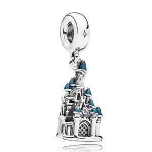 Castle Princess European Charm fit PandoraBracelet